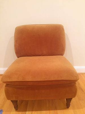World Market microfiber accent chair for Sale in Washington, DC