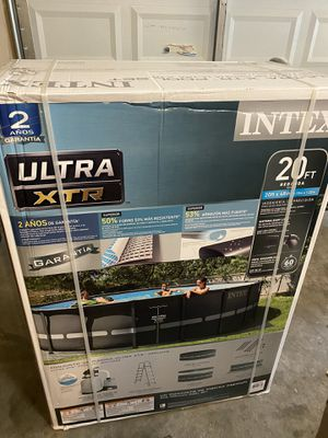 Intex Ultra XTR 20x48 Above Ground Pool for Sale in Ellicott City, MD