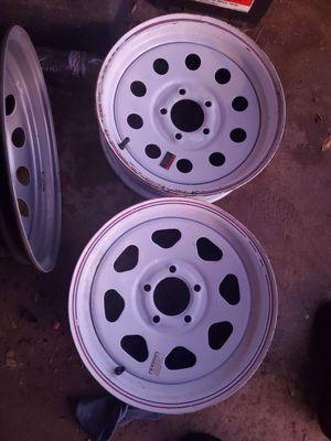 Trailer 15inch wheels rims for Sale in Glendale, AZ