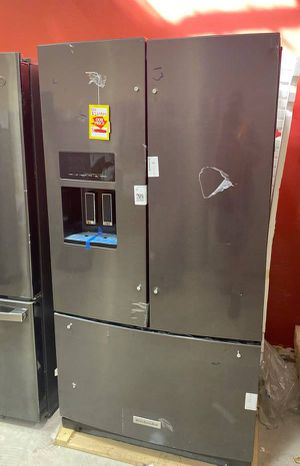 Kitchen aid KRFF507HBS refrigerator 💦💦💦 XE for Sale in Houston, TX
