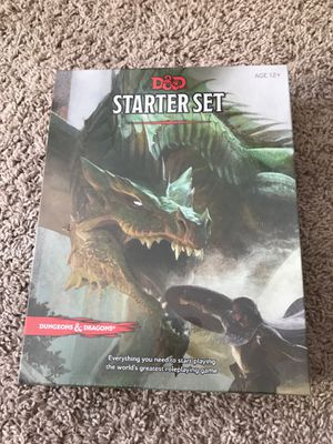 Dungeons and Dragons starter set for Sale in Camp Hill, PA