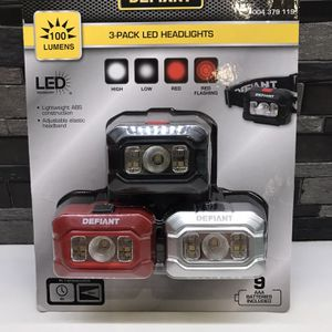 3 Pack Led Headlights New $10 for Sale in Los Angeles, CA