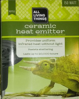 Ceramic heat emitter for Sale in Waterloo, IA