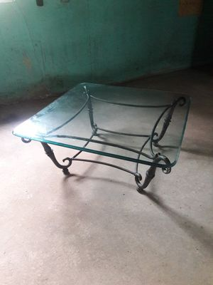 Antique glass table for Sale in Bryn Mawr, PA