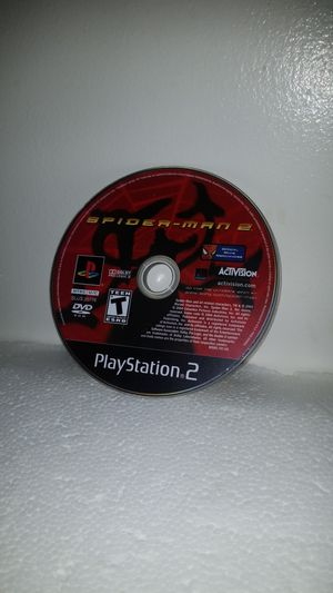 Spiderman 2 ps2 game for Sale in El Cajon, CA