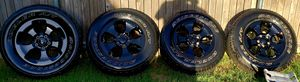 5 LUG JEEP WHEELS, P255/70R18 for Sale in Fort Worth, TX