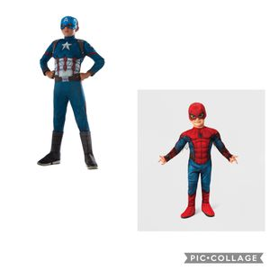 Brand New! Kids Captain America & Spider-Man Costumes for Sale in Westminster, CA