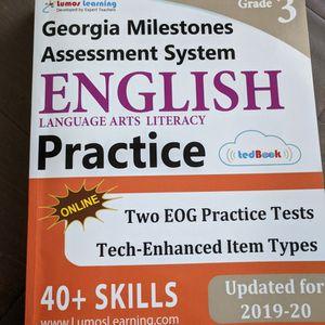 Like new 3rd Grade Georgia Milestones English Practice for Sale in Buford, GA