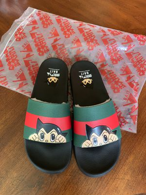 Bait Gucci collab slides for Sale in Bloomington, CA