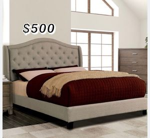 EASTERN KING BED FRAME AND MATTRESS INCLUDED for Sale in Bell Gardens, CA