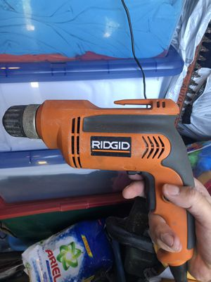 Rigid R7000 corded drill for Sale in Whittier, CA
