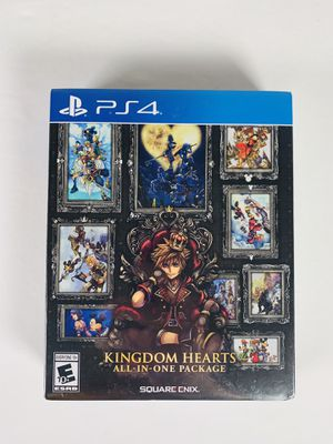 Kingdom Hearts All In One package PS4 for Sale in Kernersville, NC