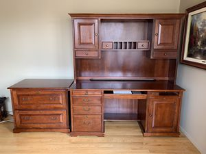 Office Desk and File Cabinet for Sale in Silver Spring, MD