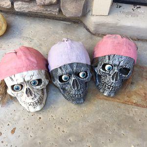 Three full size skulls for Sale in Goodyear, AZ