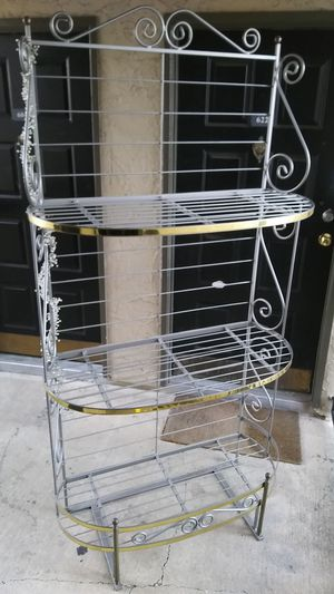"""40"""" X 78"""" BAKER RACK. IN EXCELLENT CONDITION. for Sale in Dallas, TX"""