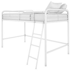 DHP Twin Size White Metal Loft Bed for Sale in Nashville,  TN