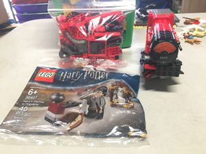 Lego Harry Potter partial train and small set for Sale in Huntington Beach, CA
