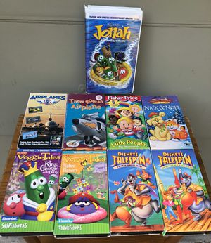 9 kids VHS movies for Sale in Duncanville, TX