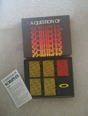 Adult Party Game/1984 A Question Of Scruples for Sale in Gaithersburg, MD