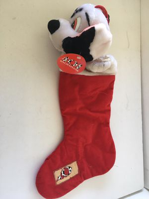 Vintage Disney 101 Dalmatians Christmas Stocking Decoration New with Tags for Sale in La Mirada, CA