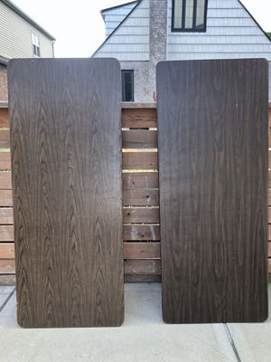 Heavy duty Folding wood tables for Sale in Queens, NY