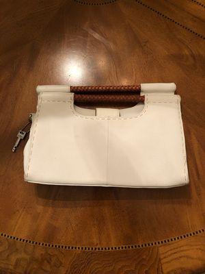 Fossil white leather handbag purse for Sale in Odessa, FL