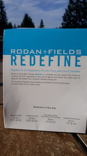 Soften those fine wrinkles!! Rodan and Fields Redefine for Sale in Bothell, WA