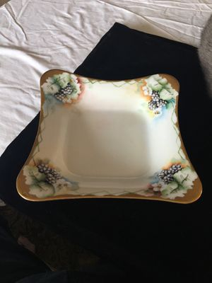 From Bavaria Grape Pattern Square Bowl for Sale in Alexandria, VA