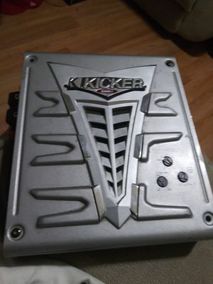 Kicker. Kx400.1 amp for Sale in Stockton, CA