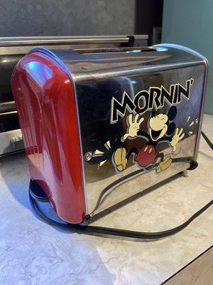"VillaWare Disney Mickey Mouse ""Musical"" 2 Slice Toaster for Sale in Wayne, MI"