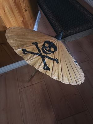 Disney's Pirates of the Caribbean paper umbrella for Sale in Thornton, CO