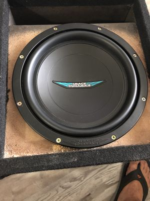 "10"" Image Dynamics 500 Watts RMS peaks 1,000 Watts. Bought it for $200 for Sale in Tampa, FL"