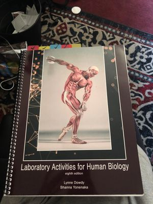 Activities for Human Biology, Lab Book for Sale in Menlo Park, CA