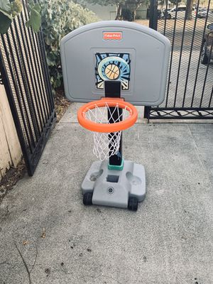 Fisher price child's basketball hoop with wheels for Sale in Fairfield, CA