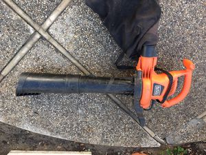 Leaf Blower with Bag for Sale in Newport Beach, CA