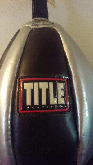 TITLE PLATINUM SPEED BAG for Sale in Canandaigua, NY