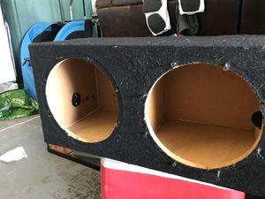 10 inch car subwoofer box for Sale in Auburndale, FL
