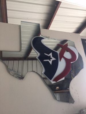 Custom All Houston Teams Mirror for Sale in Houston, TX