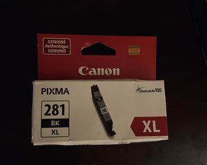 Canon Pixma 281 XL BLK ink for Sale in Amarillo, TX
