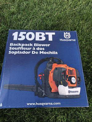 Husqvarna 150BT 50-cc 2-Cycle 251-MPH 692-CFM Gas Backpack Leaf Blower for Sale in Ashburn, VA