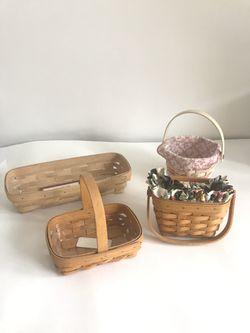 Vintage Longaberger Basket - choose 1 for Sale in Jurupa Valley,  CA