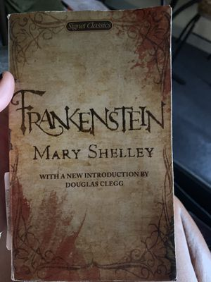 Frankenstein by Mary Shelley Novel for Sale in Providence, RI
