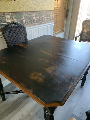 Farm style antique dining room table for Sale in Sacramento, CA