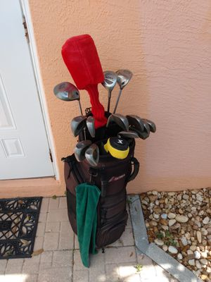 Full Set Golf Clubs Titanium Armour Callaway Ping Titleist Graphite Shafts for Sale in Lehigh Acres, FL