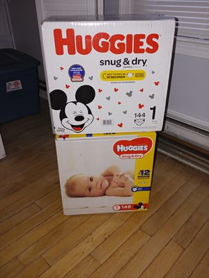 Huggies snug and dry for Sale in Newington, CT