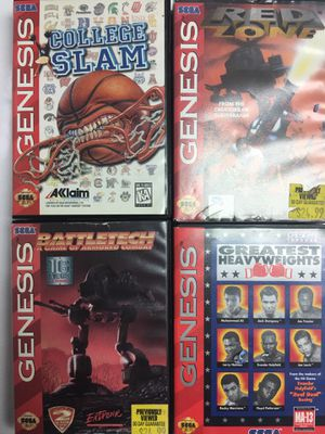 Sega Genesis Games for Sale in Fairfax, VA
