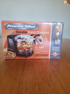 Proctor Silex Mini 1.5 Cup Food Processor & Vegetable Chopper for Sale in Sierra Vista, AZ