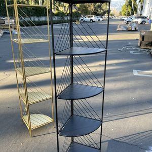 5–Tier Black Foldable Storage Rack / Shelves for Sale in El Monte, CA