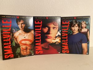 SMALLVILLE Complete Seasons: 1, 2 and 4 DVD set for Sale in Mesa, AZ