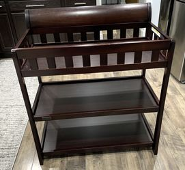 Nice Wooden Espresso Color Baby Changing Station/ Changing Table for Sale in Renton,  WA